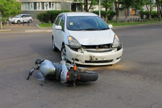 Motorcycle Crash Closes Street | Littleton Car Accident Lawyer
